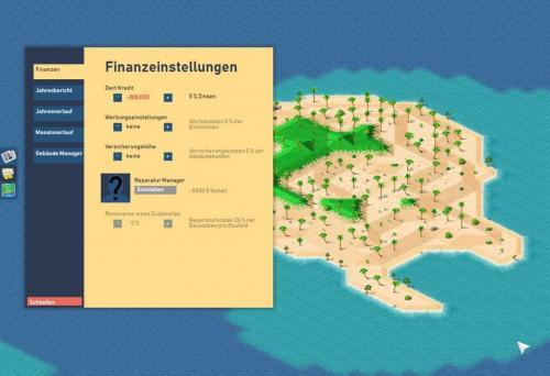 Finanzeinstellungen